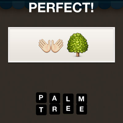Guess The Emoji Palm Tree And Open Book